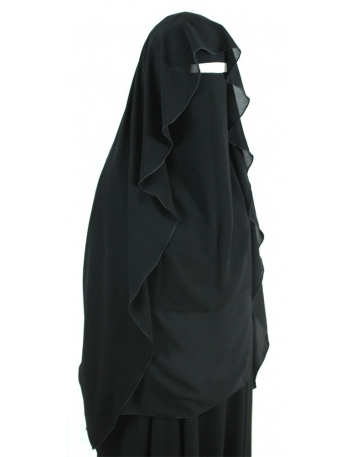 Extra Long Butterfly Niqab