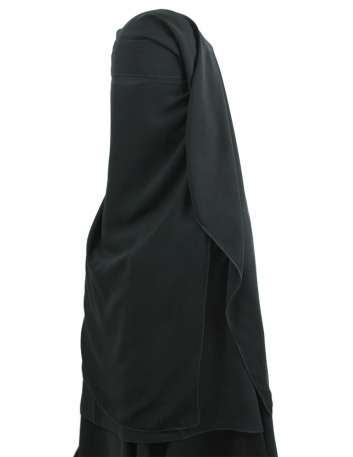 Long Three Piece Niqab