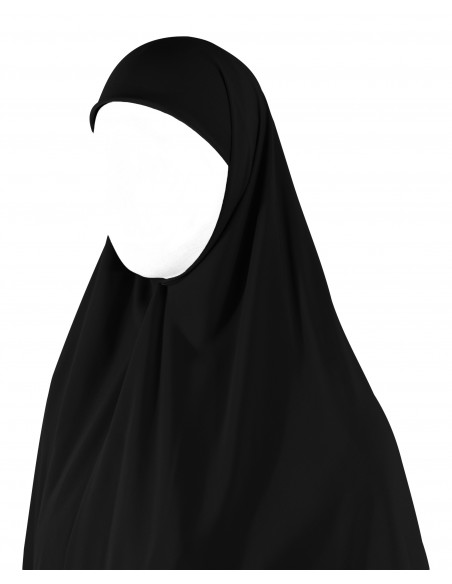 Essential Square Hijab - Extra Large (Black)