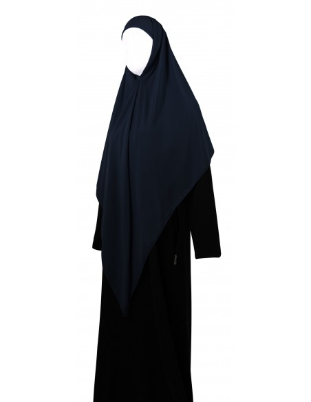 Essential Square Hijab - Large (Navy Blue)