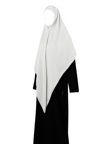 Essential Square Hijab - Large (White)