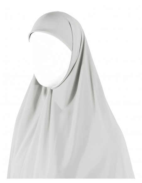 Essential Square Hijab - XL (White)