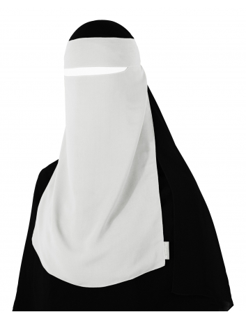 Narrow No-Pinch One Piece Niqab