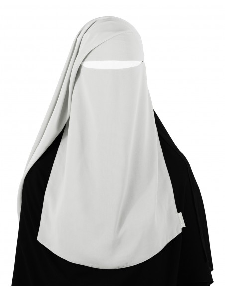 Two Piece Niqab (White)