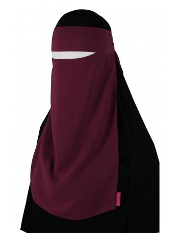Pull-Down One Piece Niqab