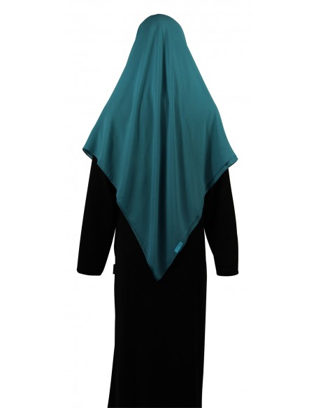 Essential Square Hijab - Large (Teal)
