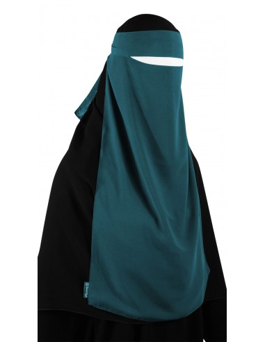 Long One Piece Niqab (Teal)