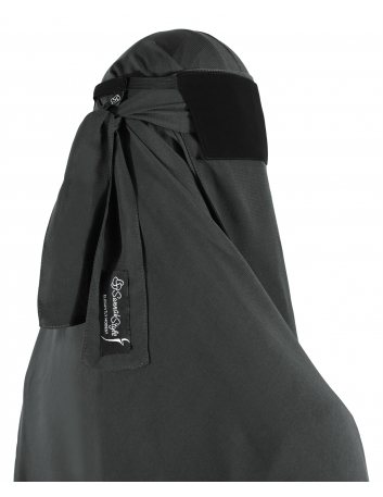 Adjustable Niqab Flap (Black)