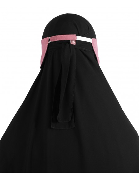 Adjustable Niqab Flap (Desert Rose)