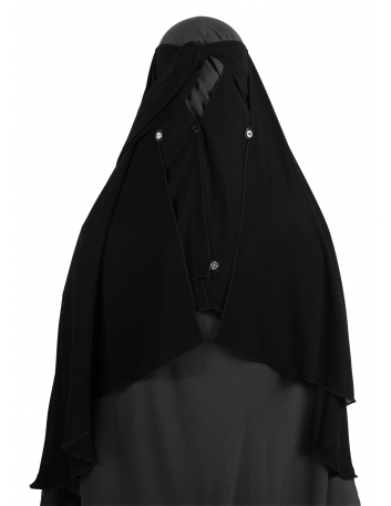 Two Layer Snapp Niqab