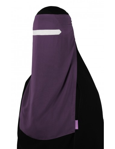 No-Pinch One Piece Niqab (Lilac)