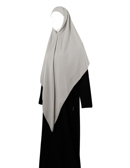 Essential Square Hijab - Large (Smoke)