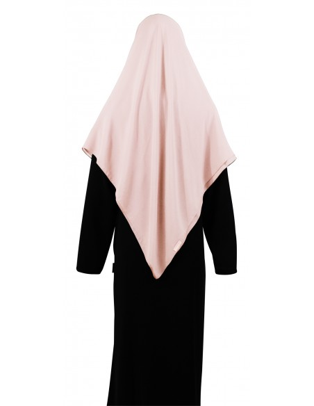 Essential Square Hijab - Large (Creamy Peach)