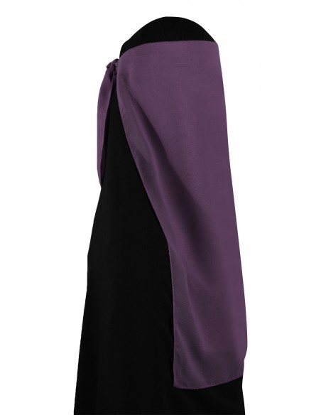 Two Piece Niqab (Lilac)