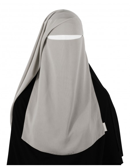 Two Piece Niqab (Smoke)