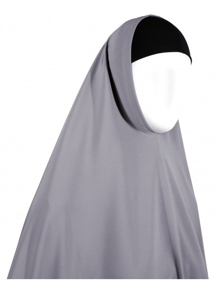 Essentials Khimar - Full Length (Orchid Grey)