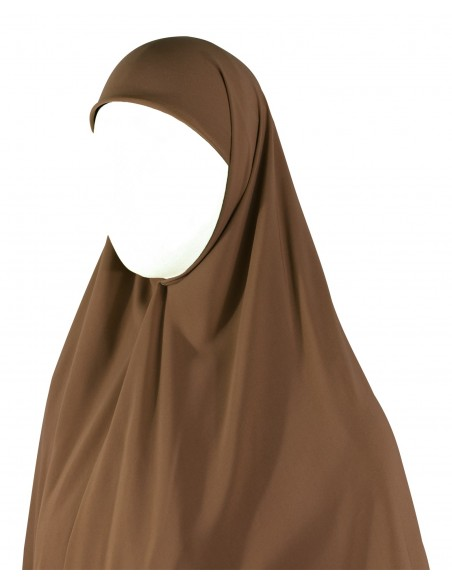 Essential Square Hijab - XL (Caramel)