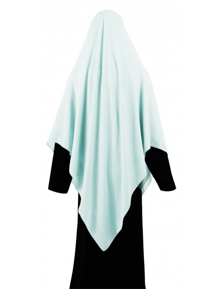 Essential Square Hijab - XL (Ice Blue)