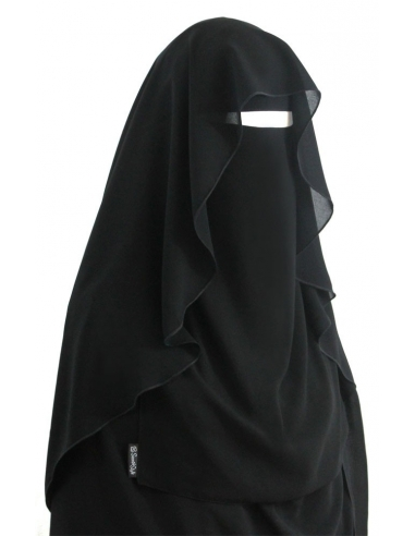 Butterfly Niqab (Black)