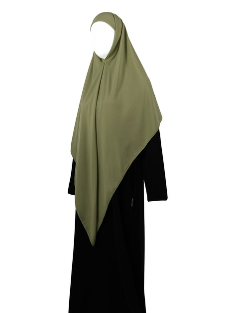 Essentials Square Hijab - Large (Moss)