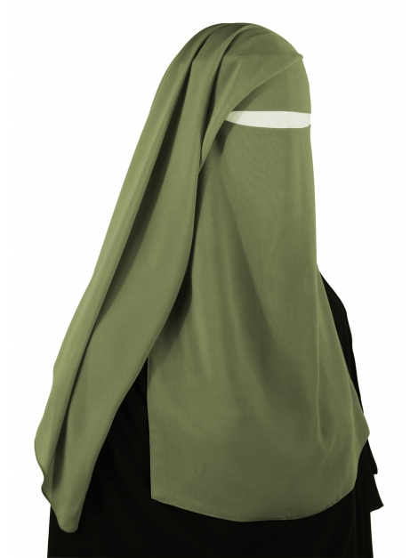 Two Piece Niqab (Moss)