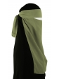 Pull-Down One Piece Niqab (Moss)
